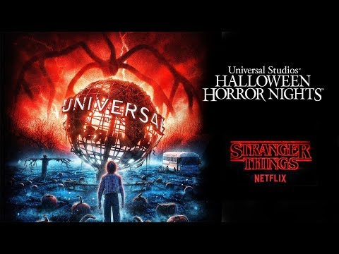Stranger Things - Halloween Horror Nights 2019 Announcement