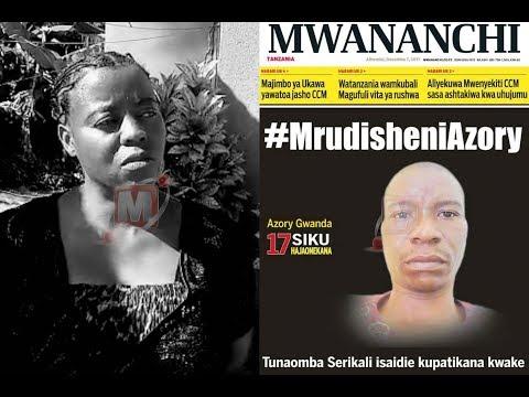 TAMKO LA MWANANCHI COMMUNICATIONS LIMITED KUPOTEA KWA MWANDISHI AZORY GWANDA