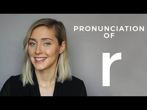 R sound | AMERICAN ENGLISH PRONUNCIATION