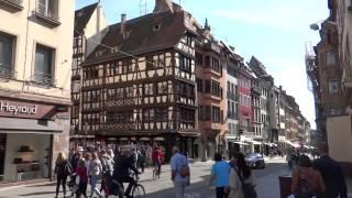 France - Alsace: Strasbourg. Франция - Эльзас: Страсбург(My video. 9'2012. Автобусный тур