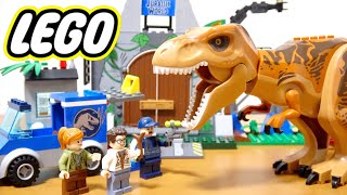 LEGO Juniors Jurassic World Desertion of T Rex Toy/10758 for childr...