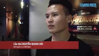 Các tuyển thủ U23 Việt Nam chia sẻ trước WORLD CUP 2018 /NQH