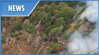Aerial aftermath of deadly wildfire in Butte County thumbnail