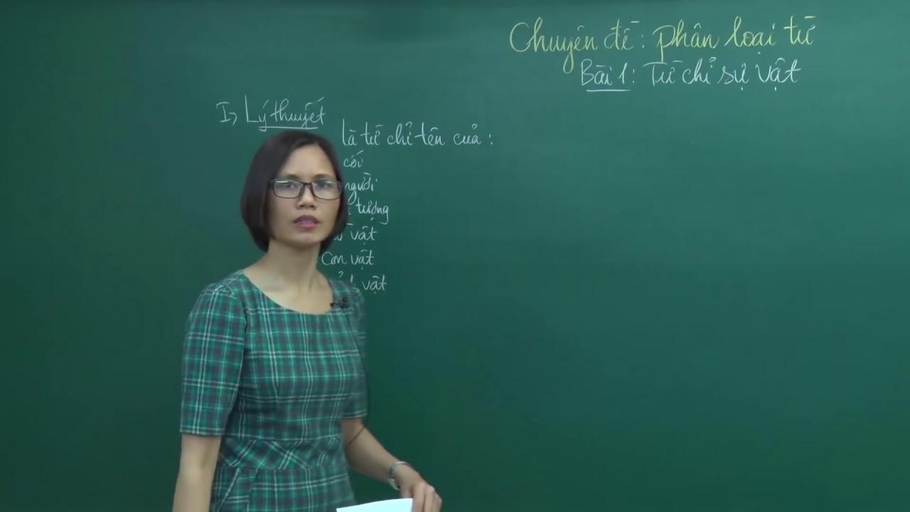 Từ chỉ sự vật phần 1 – Bồi dưỡng Tiếng Việt 3 – Cô Trần Thị Vân Anh – HOCMAI