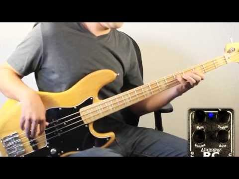 Xotic Bass RC Booster (demo) - Leslie Johnson
