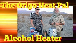 Heat Your Van with an ALCOHOL HEATER and Cooker!! The Origo 5100 Heat Pal