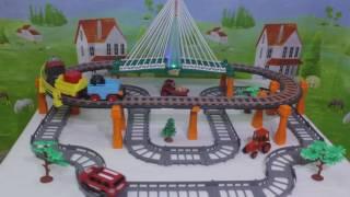автотрек / железная дорога 1TOY Nykolaivsky Express T50389 обзор