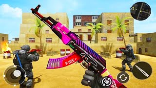 Counter Terrorist FPS Fight 2019 - Android GamePlay - FPS Shooting Games Android