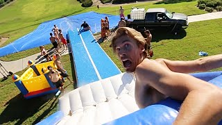 Turned PUBLIC PARK into WATERPARK!