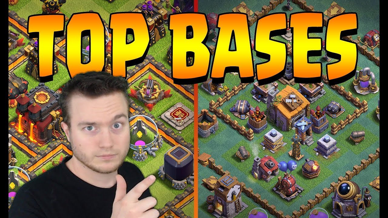 Top bases Clash of Clans MULTI & MDO