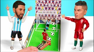 How to make Football Penalty Board GAME from Cardboard DIY at HOME ⚽