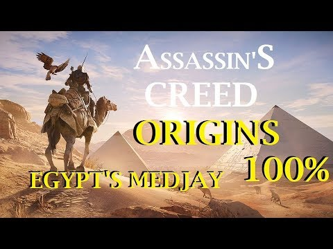 Assassin's Creed: Origins Egypt's Medjay Main Story Quest Kanopos Nome Meeting Cleopatra