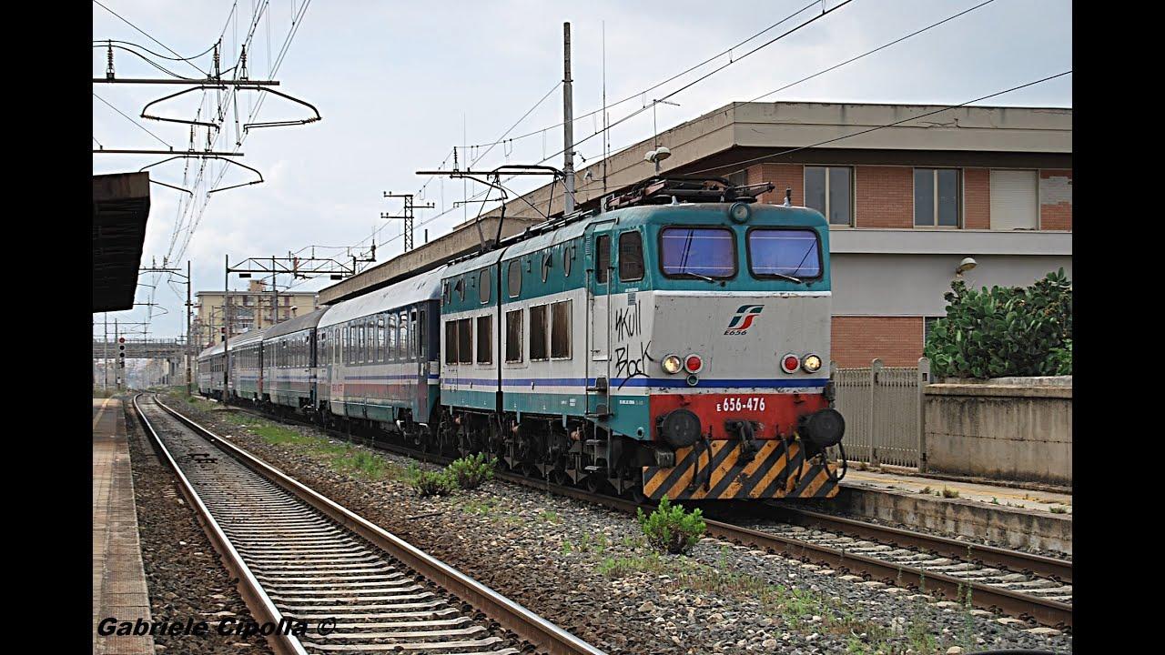[HD - Treni in transito] Treno IntercityNotte 1961 ...