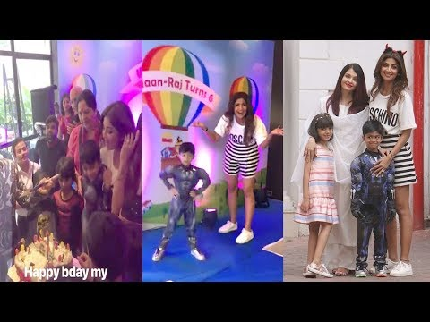 Inside Video: Shilpa Shetty's Son Viaan's 6th Birthday Party 2018-Aishwarya Rai,Aaradhya Bachchan
