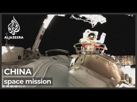 Chinese astronauts complete first spacewalk from new station
