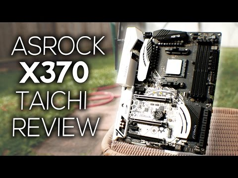 The BEST X370 Motherboard? Meet the Asrock Taichi Ft. DADMAN