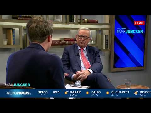 #AskJuncker : President Juncker answers Kovy's first question