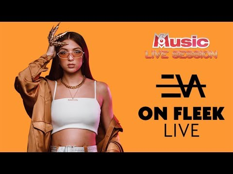 Youtube: Eva 👑 interprète « On fleek » en LIVE pour sa M6 Music Live Session