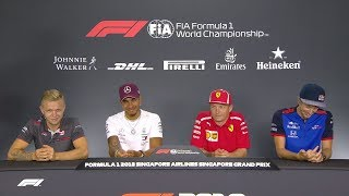 HILARIOUS: Sarcastic Kimi talks about willing to race | F1 Singapore GP 2018