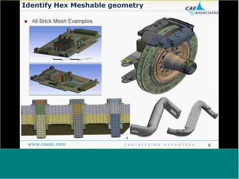 Tips & Tricks for Hex Brick Meshing - ANSYS eLearning - CAE Associates