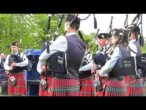 Field Marshal Montgomery Pipe Band @ Bangor 2017