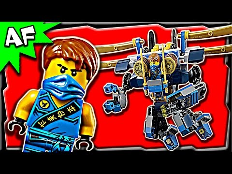 Lego Ninjago Jay's ELECTRO MECH 70754 Anacondrai Jungle Stop Motion Build Review
