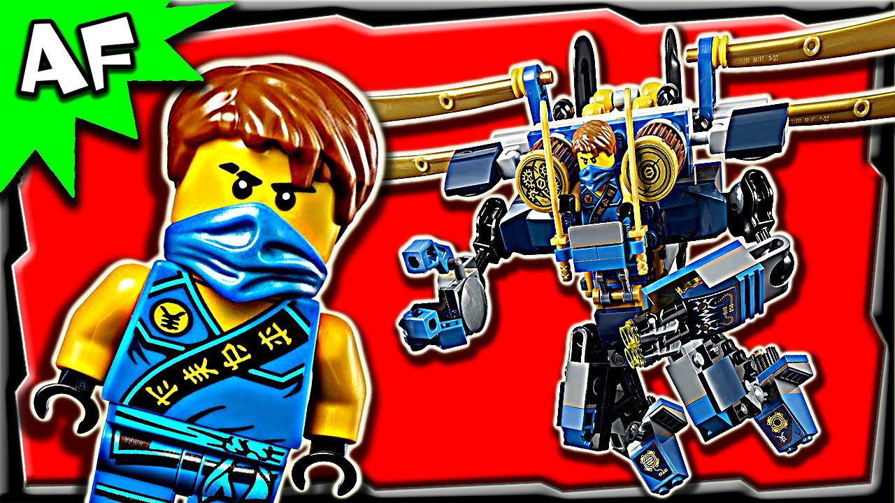 Lego Ninjago Jays Electro Mech 70754 Anacondrai Jungle Stop Motion