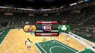 NBA ELITE (TUP 11) Gameplay NBA Live 08 PC *Full Patch