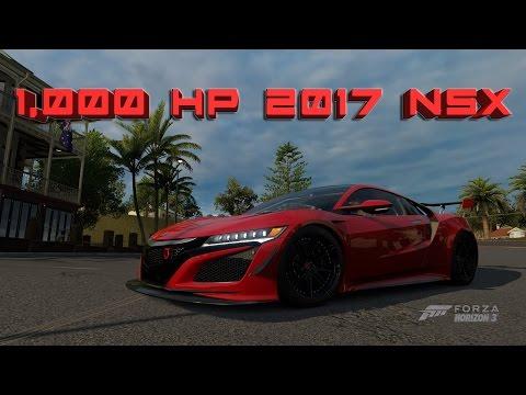 Forza Horizon 3 | 1,000 Horsepower 2017 NSX thumbnail