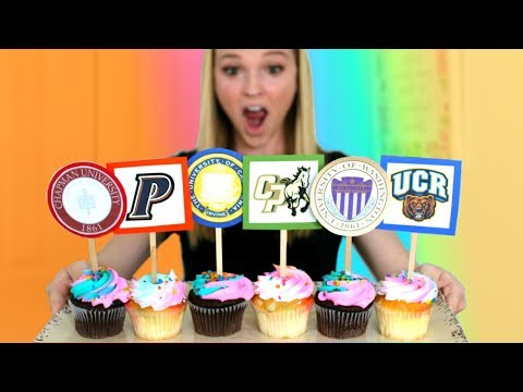 High School Students Are Revealing Their College Decisions With Cupcakes