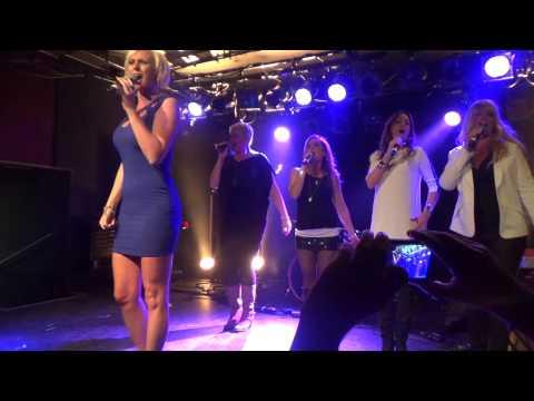 ESCKAZ in Copenhagen: Sanna Nielsen (Sweden) - medley (at Nordic party)