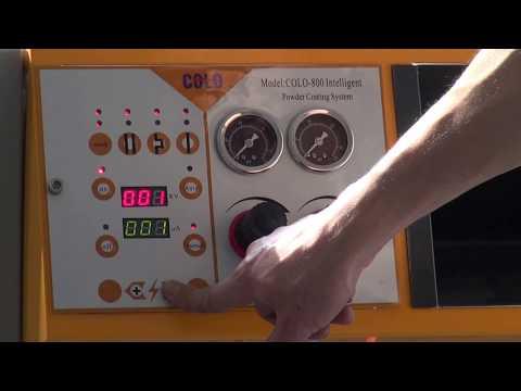 COLO-800D Electrostatic Powder Coating Equipment