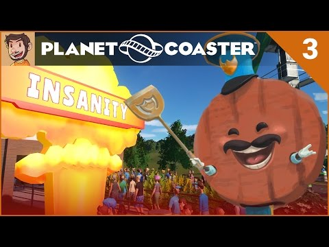 Let's Play Planet Coaster - Hard Mode - Part 3