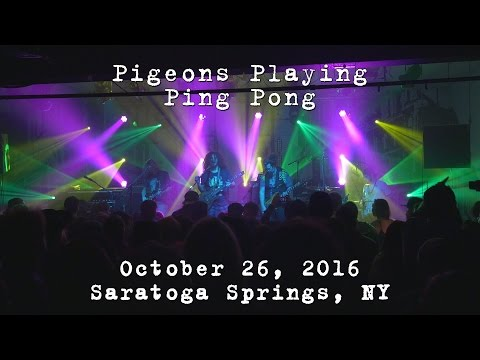 Pigeons Playing Ping Pong: 2016-10-26 - Putnam Den; Saratoga Springs, NY [4K]
