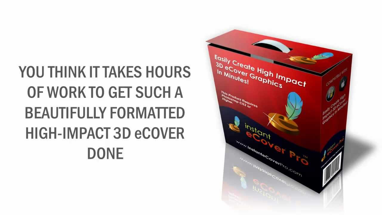 Instant eCover Pro - Professional 3D Covers Action Scripts For Your ...