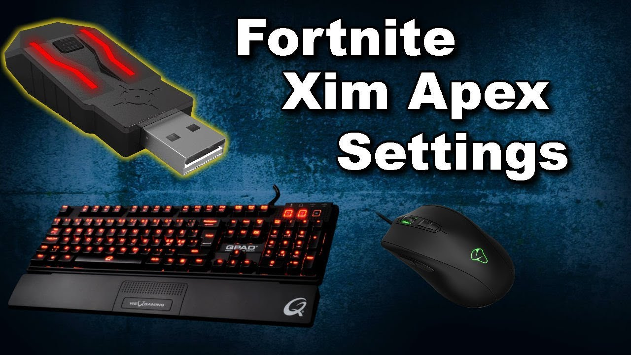 Xim Apex: Fortnite Battle Royal Button Layout (The Perfect Setting)