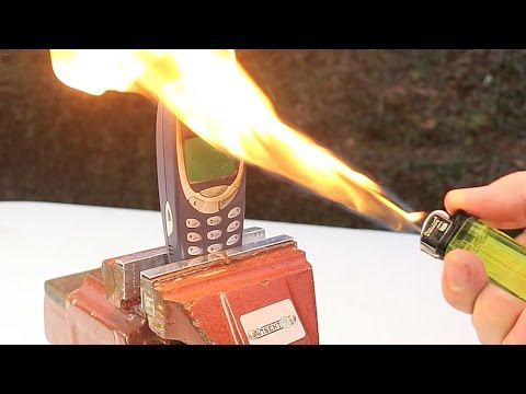 NOKIA 3310 VS HACKED CIGARETTE LIGHTER! Will It Survive?