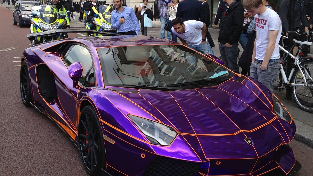 Pimped Out Cars Wallpapers Original Epic Arab Lamborghini Aventador Gets Pulled By