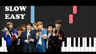 Exo - Love Shot (SLOW EASY PIANO TUTORIAL)