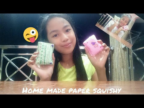 DIY HomeMade paper squishy tutorial!!! (Ft:Audrey mae) | Iris J.