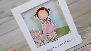 Tutorial - Shaker Card - Lots of Love   Nomadic Soul Diaries