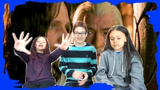 Kids REACT to The Lord of the Rings: The Return of the King (2003) Trailer