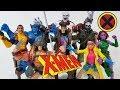 MARVEL LEGENDS CALIBAN BUID A FIGURE X-MEN WAVE FULL SET REVIEW