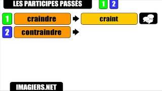 Урок французского языка = причастий прошедшего # AINDRE   НЕ № 1