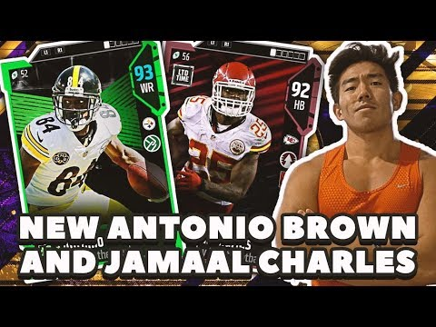 WE GET NEW ANTONIO BROWN & JAMAAL CHARLES! Madden 18 Ultimate Team