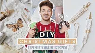 DIY Christmas Gifts People ACTUALLY Want! (Affordable + Cute)