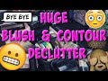 Huge Blush & Bronzer Declutter - 40+ Decluttered