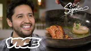 Zingende Mexicaanse chef kookt voor overleden vader