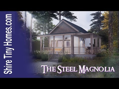 Tiny House Tour | The Steel Magnolia in The Shire at Mountaintown