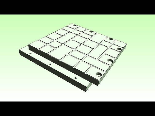 Выпуск дорожных плит из отходов пластмасс / Heavy duty recycled plastic paving slabs